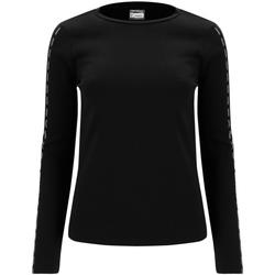 Textil Mulher T-shirt mangas compridas Freddy F0WSDT6 Preto