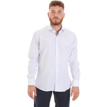 Textil Homem Camisas mangas comprida Les Copains 20P.922 P3196SL Branco