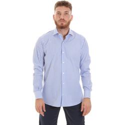Textil Homem Camisas mangas comprida Les Copains 20P.623 P3196SL Azul