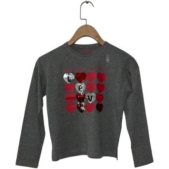 Textil Rapariga T-shirt mangas compridas Losan 024-1206AL Cinzento
