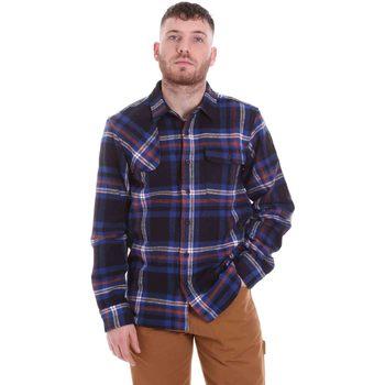 Textil Homem Camisas mangas comprida Dickies DK520352EL01 Azul