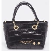 Malas Mulher Cabas / Sac shopping Atelier Enai ROSI NOIR