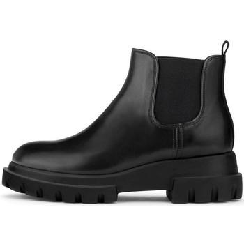 Sapatos Mulher Botins Attilio Giusti Leombruni Lowboot Alaska-Sole Black