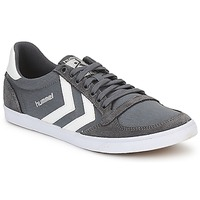 Sapatos Sapatilhas Hummel TEN STAR LOW CANVAS Cinza / Branco