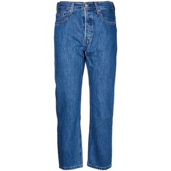Textil Mulher Calças Jeans Levi's - Jeans 501 36200-0142 BLU