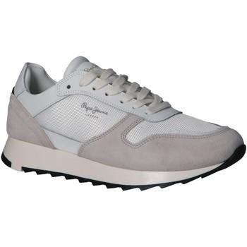 Sapatos Homem Multi-desportos Pepe jeans PMS30611 SLAB Blanco