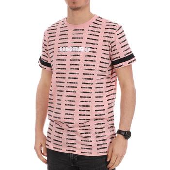 Textil Homem T-Shirt mangas curtas Umbro  Rosa
