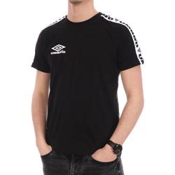 Textil Homem T-Shirt mangas curtas Umbro  Preto