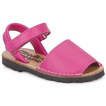 Sapatos Rapariga Sandálias Citrouille et Compagnie BERLA Rosa fúchia