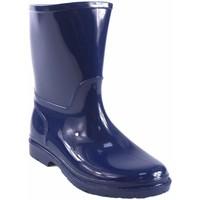 Sapatos Rapaz Botas de borracha Kelara Bota de agua niño  k01117 azul Bleu