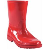 Sapatos Rapaz Botas de borracha Kelara Bota de agua niño  k01117 rojo Rouge