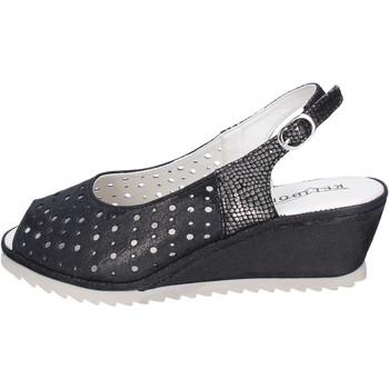 Sapatos Mulher Sandálias Kelidon Sandálias BJ354 Preto