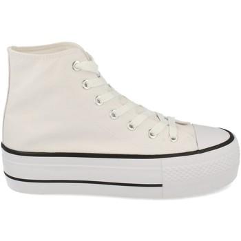 Sapatos Mulher Sapatilhas de cano-alto Tony.p ABX012 Blanco