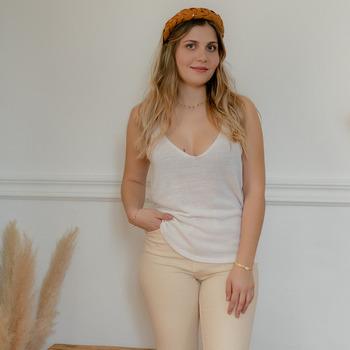 Textil Mulher Tops / Blusas Céleste INSEPARABLE Cru