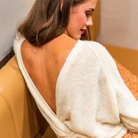 Textil Mulher camisolas Céleste COMETE Cru
