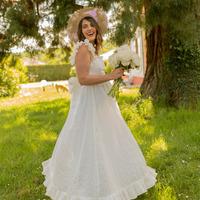 Textil Mulher Vestidos compridos Céleste AURORE Branco