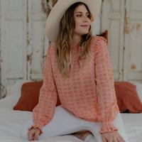 Textil Mulher Tops / Blusas Céleste HIRONDELLE Rosa