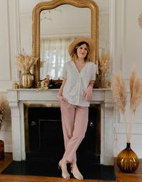 Textil Mulher Tops / Blusas Céleste MESANGE Branco