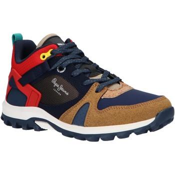 Sapatos Rapaz Sapatilhas de corrida Pepe jeans PBS50086 ARCADE TRAIL Marr?n