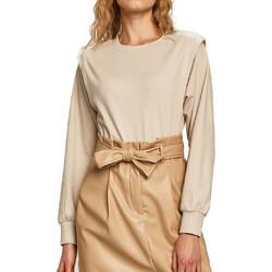 Textil Mulher Sweats Jacqueline De Yong  Bege