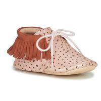 Sapatos Rapariga Chinelos Easy Peasy MEXIMOO Rosa / Couro