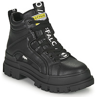 Sapatos Mulher Botas baixas Buffalo ASPHA NC MID Preto