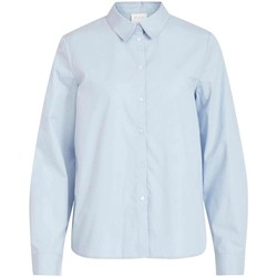 Textil Mulher camisas Vila  Azul