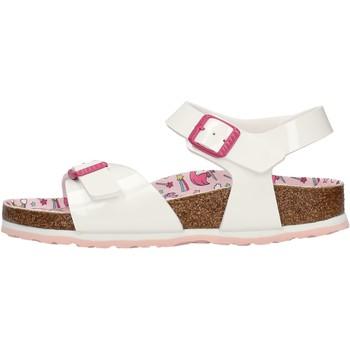 Sapatos Rapaz Sandálias Birkenstock - Rio bianco 1018864 BIANCO
