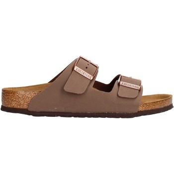 Sapatos Rapaz chinelos Birkenstock - Arizona marrone 552893 MARRONE