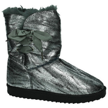 Sapatos Mulher Botas de neve Misshe Shoes  Prata
