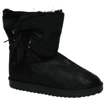 Sapatos Mulher Botas de neve Misshe Shoes  Preto