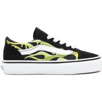 Sapatos Criança Sapatos estilo skate Vans Old skool Preto