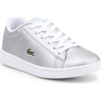 Sapatos Criança Sapatilhas Lacoste 734SPC0006334 Prateado