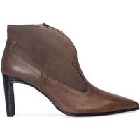 Sapatos Mulher Botins Paco Gil OLIVIA Castanho
