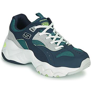 Sapatos Mulher Sapatilhas Skechers D'LITES 3.0/OCEAN CLOUD Marinho