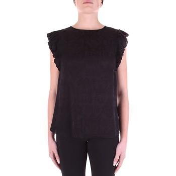 Textil Mulher Tops / Blusas Versace B0HWA631-09475 Preto