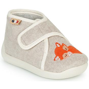 Sapatos Criança Chinelos GBB APOCHOU Bege