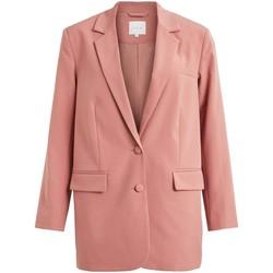 Textil Mulher Casacos/Blazers Vila VIKALINKA L/S BLAZER rosa