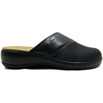 Sapatos Mulher Chinelos Stiledivita - Pantofola nero 8257 NERO