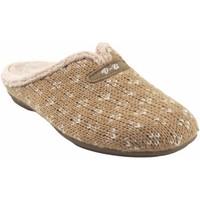 Sapatos Mulher Chinelos Vulca Bicha Vá para casa senhora  4324 bege Castanho