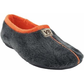Sapatos Mulher Chinelos Vulca Bicha Vá para casa senhora  4306 cinza Cinza