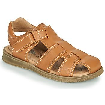 Sapatos Rapaz Sandálias Citrouille et Compagnie MELTOUNE Castanho