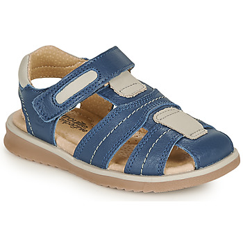 Sapatos Rapaz Sandálias Citrouille et Compagnie MABILOU Azul