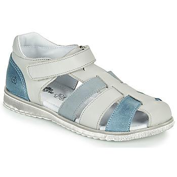 Sapatos Rapaz Sandálias Citrouille et Compagnie FRINOUI Cinza