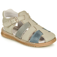 Sapatos Rapaz Sandálias Citrouille et Compagnie ZIDOU Cinza
