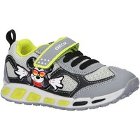 Sapatos Rapaz Multi-desportos Geox J0294A 01454 J SHUTTLE Gris