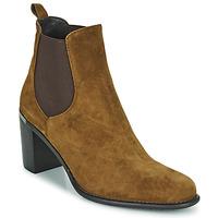 Sapatos Mulher Botins Adige FANNY V1 CHEV VEL NOIX Castanho