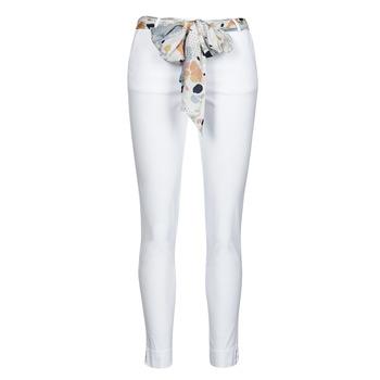 Textil Mulher Calças Betty London OUMA Branco