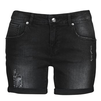 Textil Mulher Shorts / Bermudas Moony Mood ONANA Preto