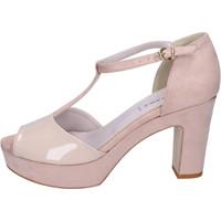 Sapatos Mulher Sandálias Olga Rubini BJ397 Bege